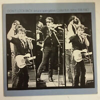 Bruce Springsteen Don'T Look Back LP Collectors Items 1974-1980