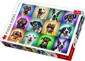Trefl 1000 Piece Adult Large Assorted Funny Dog Pet Portraits Jigsaw Puzzle NEW
