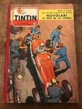 recueil reliure journal tintin France 21 (1954)  BD ancienne côte BDM : 180e