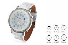 Unisex-LederArmbanduhr The One ORS504B1 (41 mm) Quarzuhr Armbanduhr