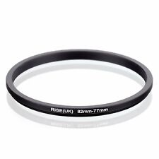 82-77 82mm to 77mm 82-77mm Matel Step-down Stepping Down Ring Filter Adapter