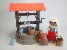 PLAYMOBIL Pastora y Pozo, Belen, Navidad, Christmas, Medieval, House, Casas