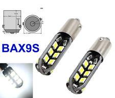 2x H6W BAX9S 24 SMD 3528 LED Parklicht Standlicht Leselicht 12V Deutsche Post