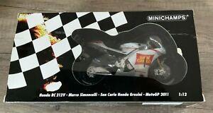 Honda RC 212V Marco Simoncelli - San Carlo Honda Gresini (Minichamps) 1/12 Scale