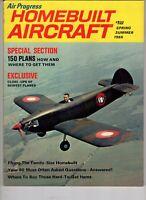 Air Progress  Homebuilt Air Magazine 1966 150 Plans