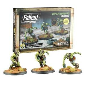 FALLOUT WASTELAND WARFARE SUPER MUTANTS SUICIDERS EXP GAME BRAND NEW & SEALED