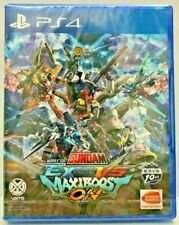 PS4 ASIA ENGLISH MOBILE SUIT GUNDAM EXTREME VS MAXIBOOST REGION FREE  NEW SEALED