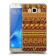 Cover e custodie gialli modello Per Samsung Galaxy J7 con un motivo, stampa per cellulari e palmari