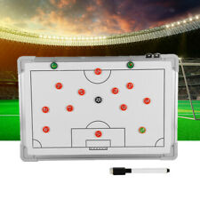 Football Tactical Board Soccer Magnetic Coaching Guidance Magnetic Pad Training