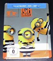 Semplicemente Incorreggibile 3 Limitata steelbook blu ray + DVD Nuovo &