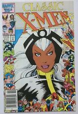 Classic X-Men #3 Storm 1986 Marvel Comic book 25th anniversary cover FN+