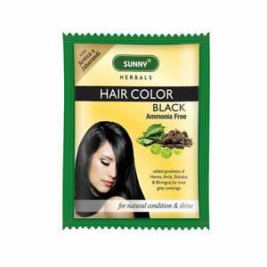 Bakson Sunny Hair Color (Black) (20g)  Delivers Rich, Long-Lasting Color