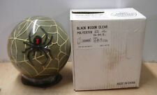 15# 4 oz, TW 3, NIB Hammer 2008 BLACK WIDOW CLEAR Bowling Ball never drilled