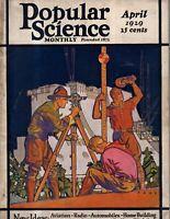 1929 Popular Science-April-Albert Einstein's topsy turvy world; Cannonball Baker