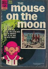 MOUSE ON THE MOON DELL MOVIE CLASSIC 1963 GRAND FENWICK SPACE RACE COMEDY VG/FN