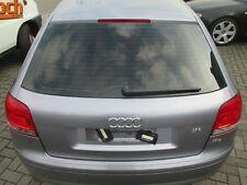 Heckklappe Audi A3 8P 2-türig akoyasilber LY7H Klappe silber