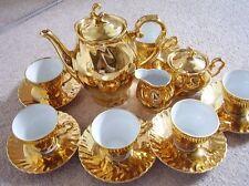 German Dresden-Bavaria porcelain full tea set ,Limoges type,15 pieces