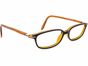 Gucci Eyeglasses GG 2459 WZE Black/Brown Oval Frame Italy 48[]15 145