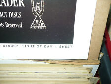 LIGHT OF DAY, nr mint orig 1-sh / movie poster [Michael J. Fox, Joan Jett]