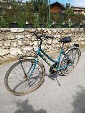 Vecchia Bici Donna City Cambio Shimano 3 + 5