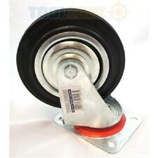 """Toolzone  2 x 150mm (6"""") Swivel Castor Wheels (Trolley / cart / replacement tool"""