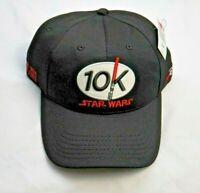 Run Disney Parks Star Wars 10K Marathon Lightsaber Black Baseball Cap Hat  NWT