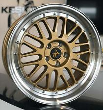 19 Zoll Keskin KT22 Le Mans Retro Gold Alufelgen für Ford Mondeo V ab 15 MK5 BA7