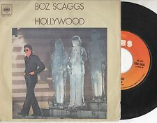 BOZ SCAGGS disco 45 giri MADE in ITALY Hollywood + We're waiting 1977