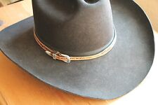 f9b2e333f5e Western Leather Tooled Hatband Hat Band Belt Cowboy Cowgirl Rodeo Horse