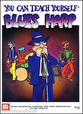 Mel Bay You Can Teach Yourself Blues Harp w/Bonus-New!