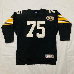 Champion THROWBACKS Vintage Collection NFL Steelers #75Joe Greene sweater/Jersey