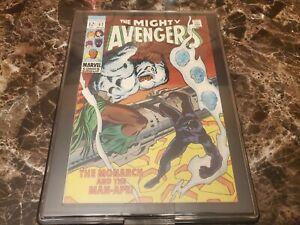 The Mighty Avengers #62 Silver Age 1st Man Ape M'Baku WAKANDA / IN SHOWCASE