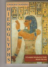 UNDERSTANDING HIEROGLYPHS a complete introductory guide  Hilary Wilson 1995 vgc