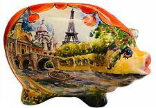 Turov Limited Edition art glass pig