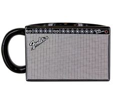 OFFICIAL FENDER GUITAR TWIN REVERB AMPLIFIER AMP COFFEE MUG CUP NEW IN GIFT BOX