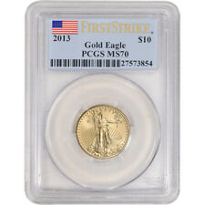 2013 American Gold Eagle 1/4 oz $10 - PCGS MS70 First Strike