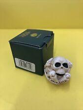 Harmony Kingdom Bones Skeleton Uk Made Box Figurine Halloween Roly Poly