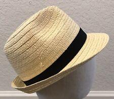 31e14bfb62346 Unisex Summer Fedora Panama Straw Hats with Band