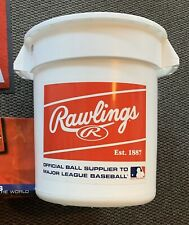 Rawlings Official League XL Bucket With Handles - Holds 100+ Baseballs, 18 x 16