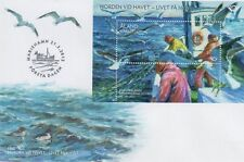 Aland Baltic Sea Fishing Sheet Aland Finland FDC 2012