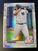 Jasson Dominguez RC 2020 Bowman Chrome Refractor Bd151 New York Yankees Rare!
