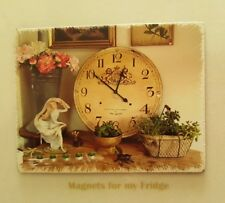 COUNTRY COTTAGE DISPLAY 'Rustic Look' FRIDGE MAGNET - M480