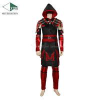 Mortal Kombat Cosplay Red Scorpion Halloween 11 2019 Man Hanzo Hasashi Costumes