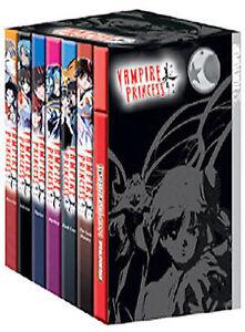 Vampire Princess Miyu TV DVD Series 1-6 Limited EditioBox Set Charm Missing/soun
