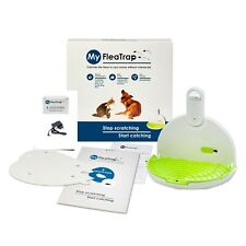 MyFleaTrap Safe Ecological Flea Trap for Dogs Cats Other Pets + Charger!