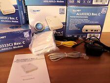 MODEM ALLNET ALL0333CJ NO WIFI  ADSL2+ RJ-11 rete 24mbps NUOVO AL PREZZO + BASSO