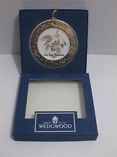 Vintage Wedgwood White Jasper 1997 Our First Christmas Ornament Mib