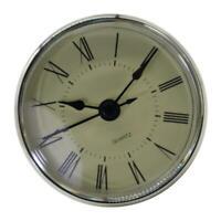 Einsteckuhrwerk aus Kunststoff, Quarz Uhrwerk, Einbauuhr, Modellbau-Uhr Geeignet