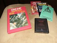STAR SHIP  for ATARI 2600 ▪︎ COMPLETE IN BOX ▪︎ FREE SHIPPING ▪︎ VERY NICE