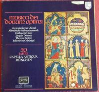 Musica dei Donum optimi / 20 Jahre Capella Antiqua München LP Vinyl Klappcover